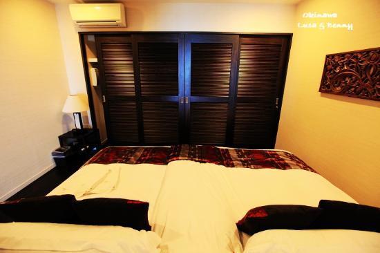 คาฟู รีสอร์ท ฟุชาคุ คอนโด โฮเต็ล: Bedroom