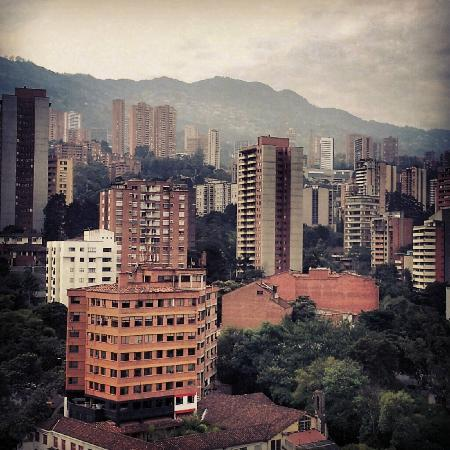 Diez Hotel Categoria Colombia: View from the rooftop of Diez Hotel