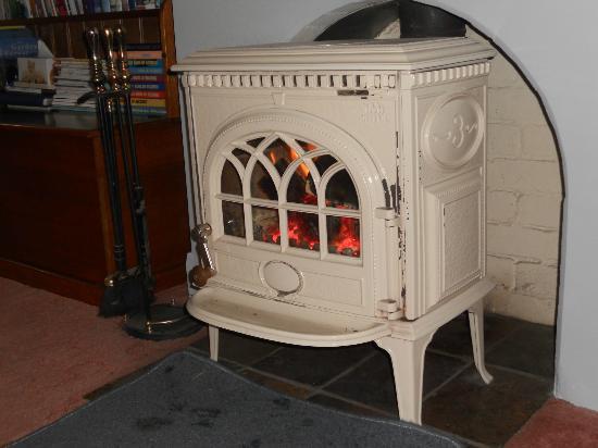 Donalea Bed & Breakfast: Roaring Log Fire