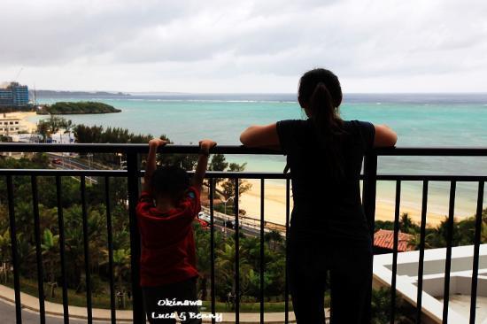 Kafuu Resort Fuchaku Condo Hotel: View frmo the balcony