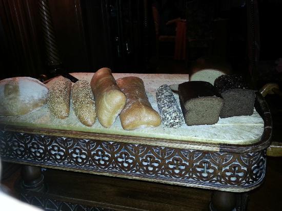 C.D.L. Restaurant : Choix de pain