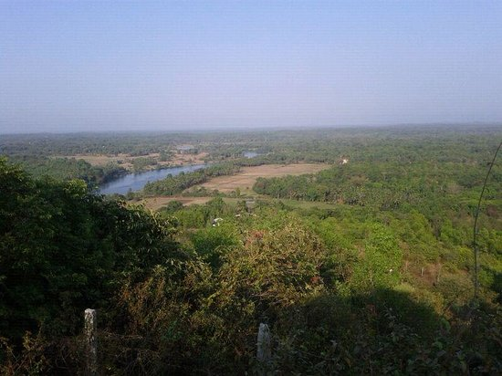 Manipal, Indien: the beautiful view from the top
