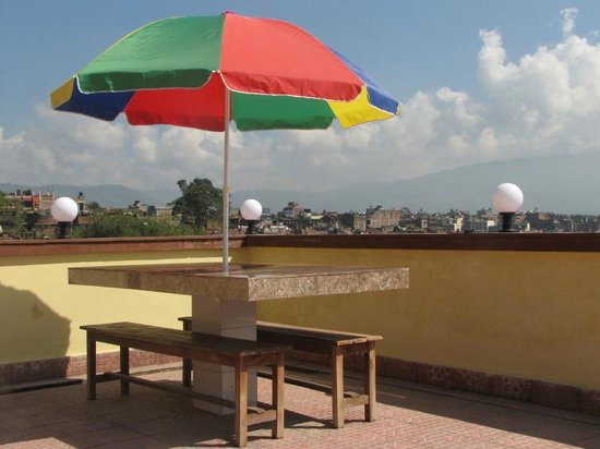 Heart of Bhaktapur Guest House: View from the rooftop