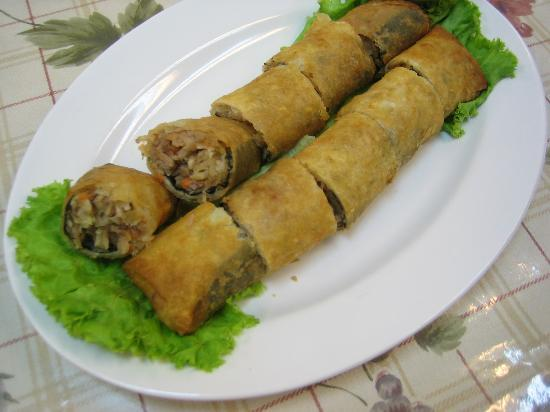 Zhu Yuan Vegetarian Restaurant : 海南春卷 Hai nan Spring Roll