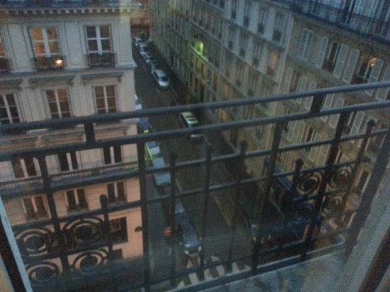 Hotel Carlton's: view