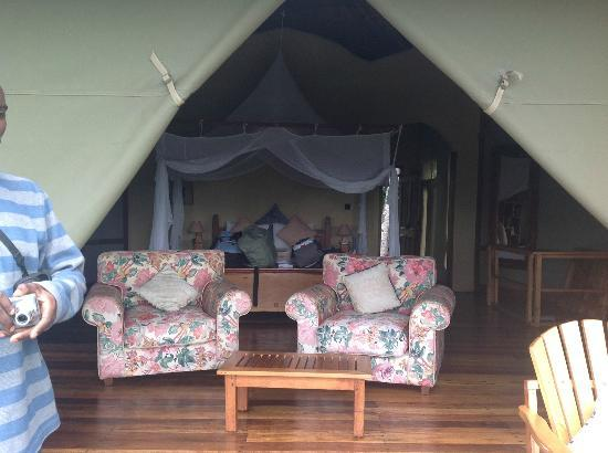 Wildwaters Lodge: Tents