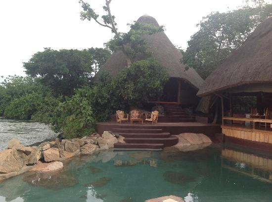 Wildwaters Lodge: Hotel View