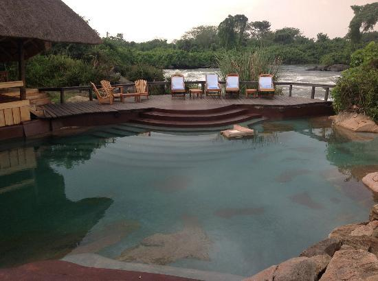 Wildwaters Lodge: Pool area