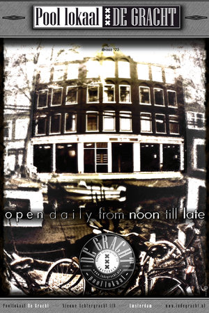 Photo of Nightclub Poollokaal De Gracht at Nieuwe Achtergracht 110, Amsterdam 1018 WT, Netherlands