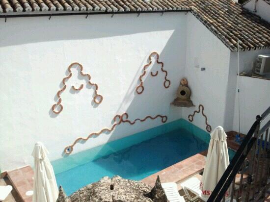 "Hotel La Ciudad: Blick vom ""privaten"" Balkon "