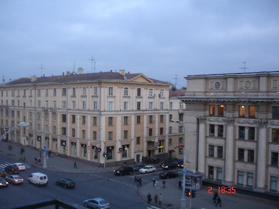 Minsk Hotel: Odamdan manzara