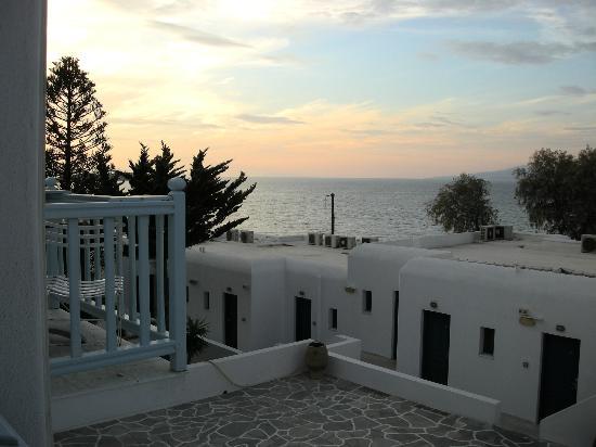 Poseidon Hotel - Suites: Vista desde la habitación