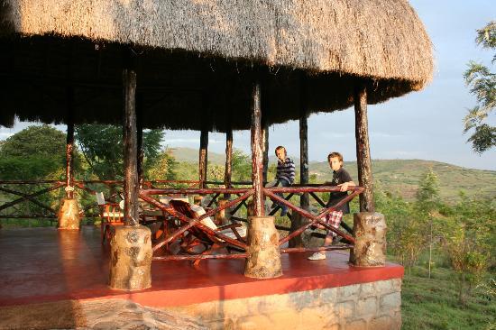Maralal - Ngari Hill Guesthouse: Terras