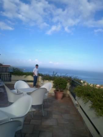 Cristina Hotel : la terrazza