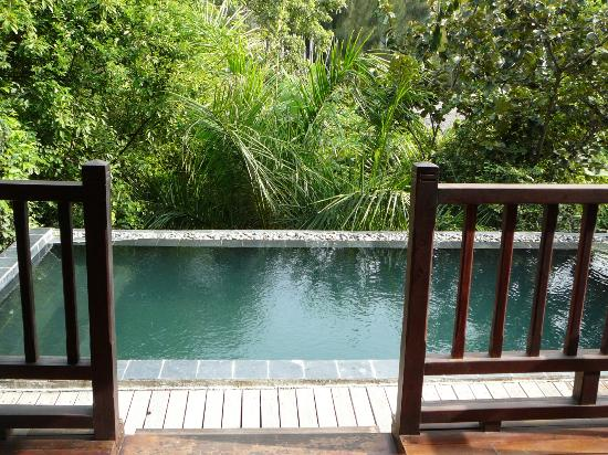 An Lam Ninh Van Bay Villas: our plunge pool