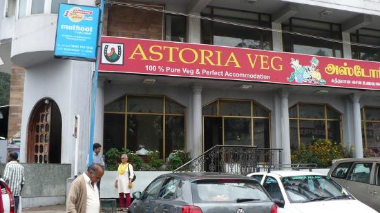 Astoria Hotel: the outside facade of the hotel and restaurant