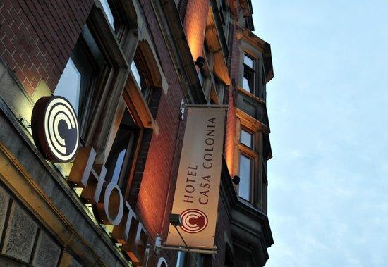 Hotel Casa Colonia : Aussenansicht