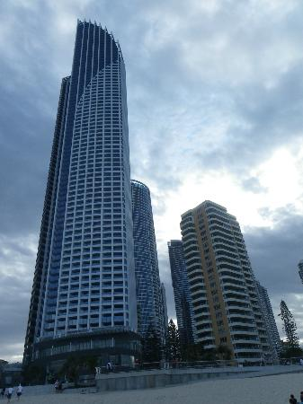 Zenith Apartments: Zenith (right) alongside Soul