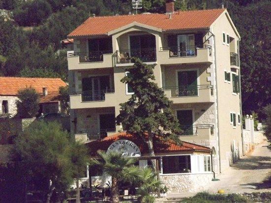 Hotel Fortuna: Ansicht vom Strand