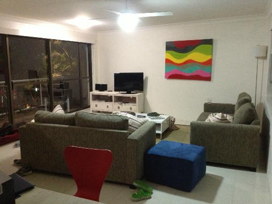 Noosa Shores Resort: Living area