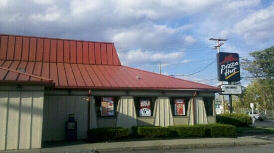 Pizza Hut: Entrance