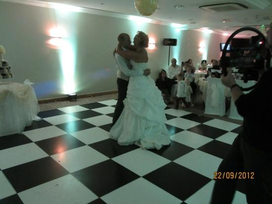 Clough Manor : Our First dance as husband and wife :)