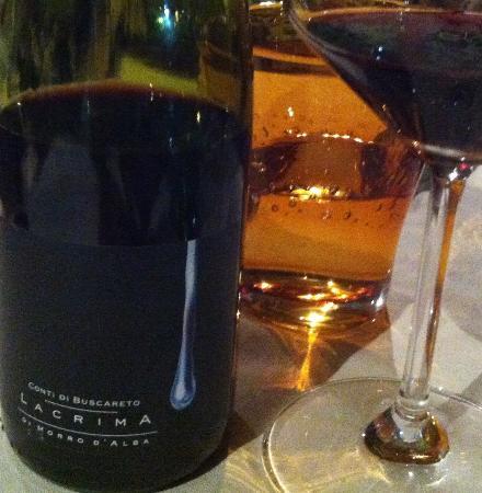 La Coppetella : Ottimo vino del posto