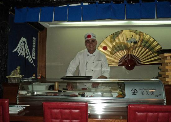 Kyodai Sushi Bar: tout un spectacle !
