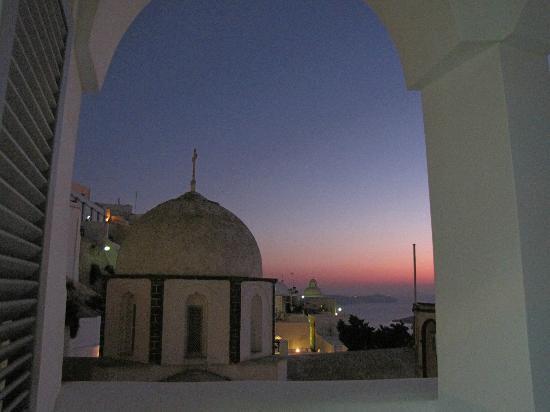 Villa Renos : View from balcony