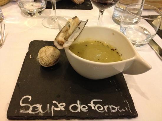 Les Diables au Thym: fennel soup
