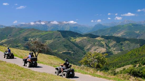 Hotel Posada Casa Lamarid: Ruta en quads por Cahecho