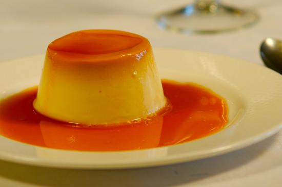 Hotel Posada Casa Lamarid: Flan de queso