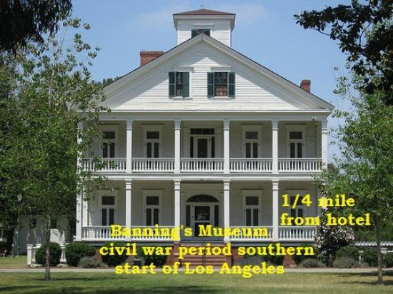 Monterey Inn: BANNINGS MUSEUM   1800 MUSEUM 3 MINUTES AWAY