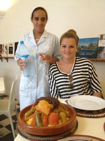 Riad Senso: Couscous a Rabat