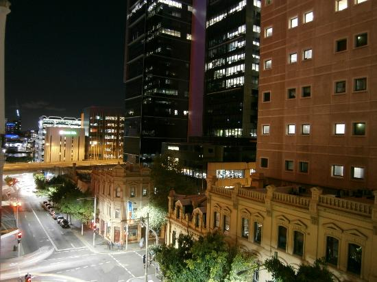 Wynyard Hotel: View from the roof at night.