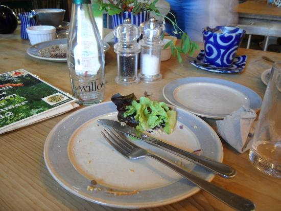 Tea Room at The Watermill: The (almost) Clean Plate Club: Priorities!