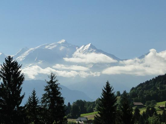 Le Chamois d'Or: Le mont blanc