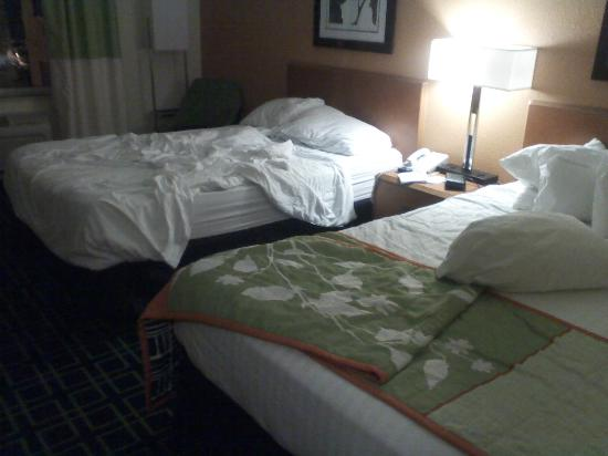 Fairfield Inn & Suites Sandusky: Room @ check in