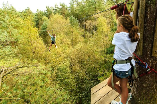 Buxton, UK: Adventure Zip Wire