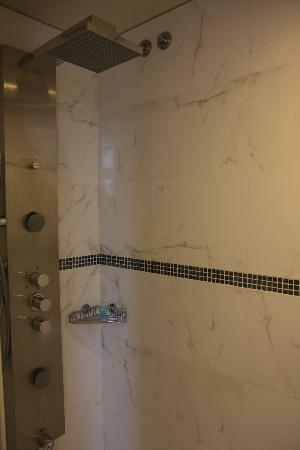 Eurostars Oporto: Large shower with rain head