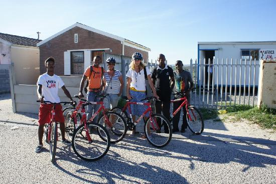 Ubuntu - Khayelitsha on Bikes- Day Tours