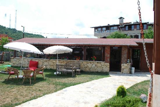 Agva Himalaya Motel: Kafeterya