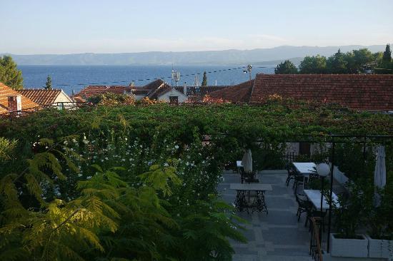 Villa Giardino: Sea view and view onto the terrace