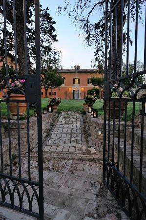 Villa Forasiepi: ingresso