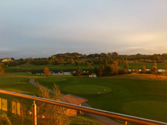 The Heritage Killenard: View of the golf course from junior suite