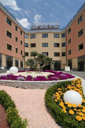 San Severino Park Hotel & Spa: Entrata Hotel