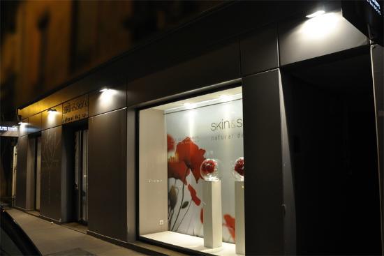 Skin&Sens: La façade du spa de Lyon