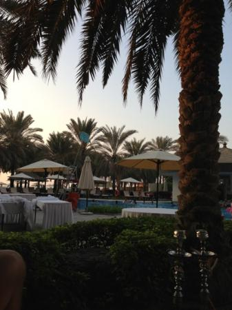 Sheraton Jumeirah Beach Resort: Afternoon shisha...