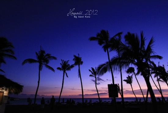 Waikoloa Beach Marriott Resort & Spa: マジックアワー