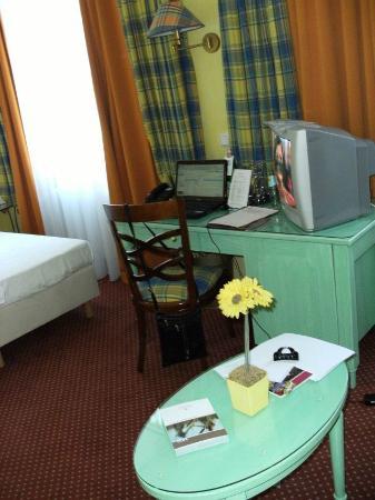 Romantik Hotel Goldene Traube: Pokój śródziemnomorski